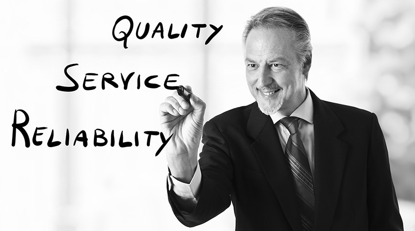 Customers Want Quality Service Reliability