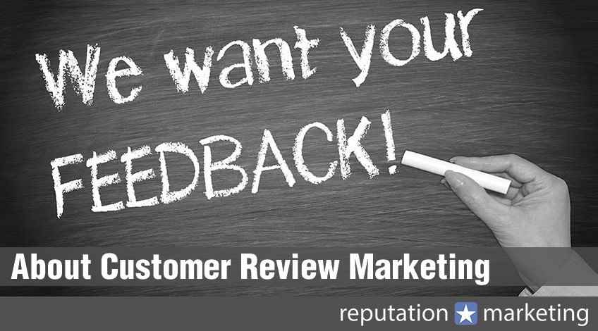 About Customer Review Marketing